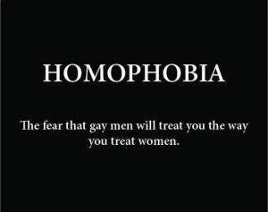 homophobia fear